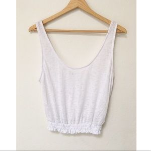 NWOT UO Project Social T white 80's Tank